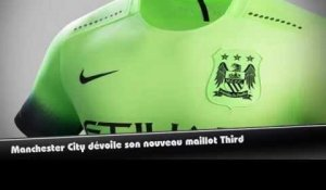 Manchester City dévoile son maillot Third