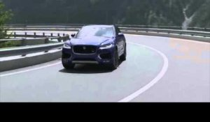 The all-new Jaguar F-PACE - Driving Video in Caesium Blue | AutoMotoTV