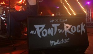 The Blue Butter pot, Zoufris Maracas et Bigflo au Pont du rock