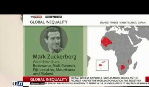 Le zapping du 19/01 : Mark Zuckerberg plus riche que 7 pays africains combinés