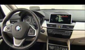 The new BMW 225ex Active Tourer Interior Design Trailer | AutoMotoTV