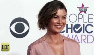 Ellen Pompeo (Grey's Anatomy) nue sous sa blouse, la photo super hot