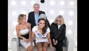 Miss France 2013 montre sa culotte involontairement !