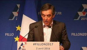 François Fillon lance le meeting participatif
