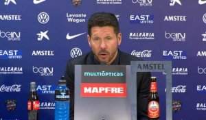 "37e j. - Simeone : ""Pas d'excuses"""