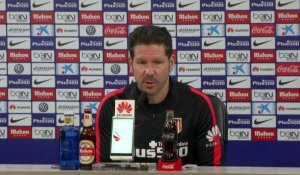 "Atl Madrid - Simeone : ""Un grand avenir pour le club"""