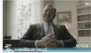 49-3 : Franck Underwood de House of Cards interpelle Manuel Valls - ZAPPING ACTU DU 12/05/2016
