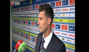 PSG / Metz - La reaction de Thiago Motta