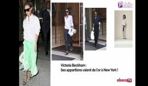 Victoria Beckham : Ses apparitions valent de l'or à New York !