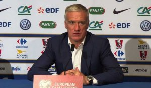 Football: Deschamps enchanté du duo Gameiro-Griezmann