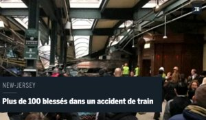 New-Jersey : Plus de 100 blessés dans un accident de train