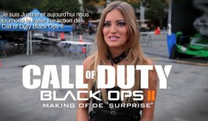 "Call of Duty : Black Ops 2 - Behind the Scenes of ""Surprises"" (FR)"