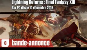 Lightning Returns : Final Fantasy XIII - Bientôt sur PC (Steam)