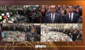 Attentats: minute de silence à Paris
