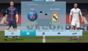 FIFA 16 - PSG-Real Madrid : les compositions d'équipe