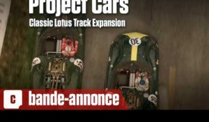 Project Cars - Le pack Lotus (quatre voitures, trois circuits)