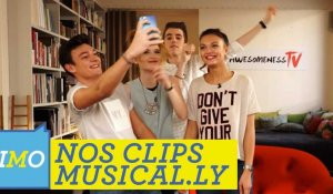 Nos deux clips avec MUSICAL.LY : Alessia Cara - Here / Twenty One Pilots - Stressed Out