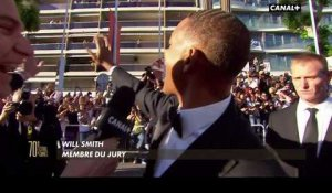 "Festival de Cannes : quand Will Smith fait un ""high five"" à Laurent Weil !"