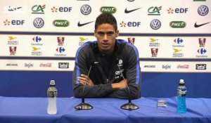 Equipe de France - Varane veut s'imposer comme titulaire indiscutable