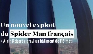 "Nouvel exploit du ""Spiderman français"""