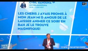 TPMP : Cyril Hanouna félicite Jean-Michel Maire en direct (Vidéo)