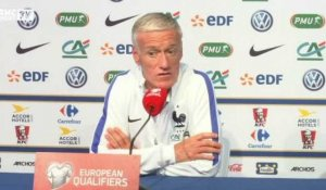 "Deschamps : ""On est dans l'obligation de confirmer"""