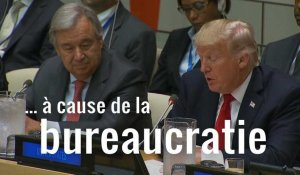 À peine arrivé à New York, Trump tacle l'ONU