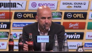 "2e j. - Bosz: ""Pas satisfait de la possession du ballon"""