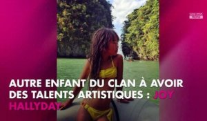 Johnny Hallyday : sa fille Joy future artiste ? Elle suit les traces de son père