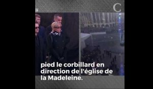 5 moments forts de la journée hommage à Johnny Hallyday