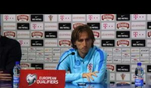 "Barrages - Modric : ""Garder notre sang-froid"""
