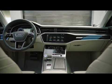The new Audi A6 Avant Interior Design sur Orange Vidéos