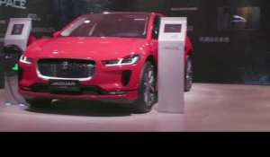 Jaguar E-Pace at the 2018 Beijing Motor Show