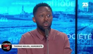 Le Grand Oral de Thomas Ngijol, humoriste - 04/05