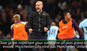 "Man City Champion - Guardiola : ""Construire un plus grand club encore"""