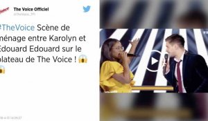 The Voice : l'incroyable prestation de Karolyn et Edouard Edouard !
