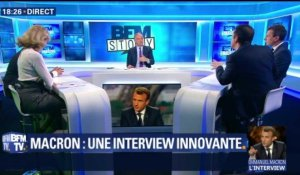 Emmanuel Macron: une interview innovante