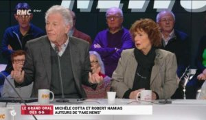 "Le Grand Oral de Michèle Cotta et Robert Namias, auteurs de ""Fake News"" - 15/01"
