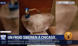 Un froid sibérien à Chicago