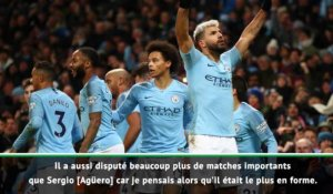 "Man City - Guardiola : ""Agüero et Jesus sont en concurrence"""