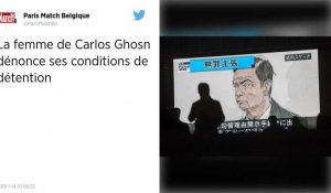 Japon. Carole Ghosn dénonce les conditions de détention de son mari et demande l'aide de Human Rights Watch