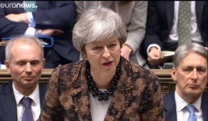 Brexit : face au Parlement hostile, Theresa May garde le cap