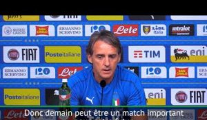 "International - Mancini: ""Un match important pour notre futur"""