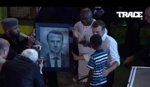 INCREDIBLE 11 year old kid drawing of Emmanuel Macron