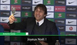 Premier League - Le message de Noël d'Antonio Conte