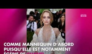 Lily-Rose Depp topless sur Instagram, son oncle s'étonne