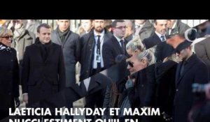 INFO CLOSER. Comment Laeticia Hallyday et Maxim Nucci veulent finir l'album post...