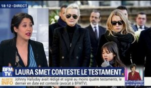 Laura Smet conteste le testament de son père Johnny Hallyday (1/2)