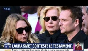 Laura Smet conteste le testament de son père Johnny Hallyday (2/2)