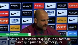 "Premier League - Guardiola: ""Je veux que Mahrez revienne"""